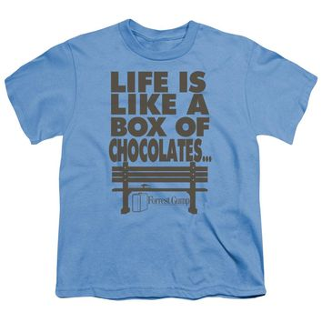 Forrest Gump - Life Short Sleeve Youth 18/1