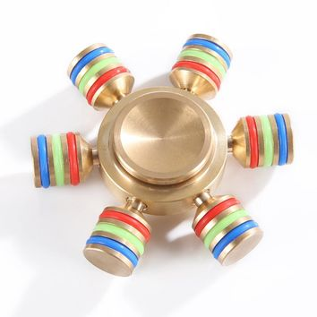 Hand Spinner Ceramic Ball Reduce Stress Desk Focus Finger Spinner For Kids Adults