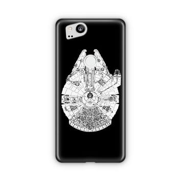 Millenium Falcon Star Wars Google Pixel 3 XL Case | Casefantasy