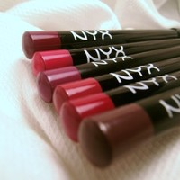 NYX Slim Lip Long-Lasting Pencils - Warm Set