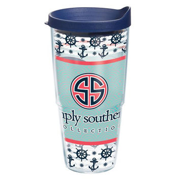 """Simply Southern """"Anchors & Whales"""" Tervis"""