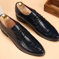Fashion Office Synthetic Leather Shoes