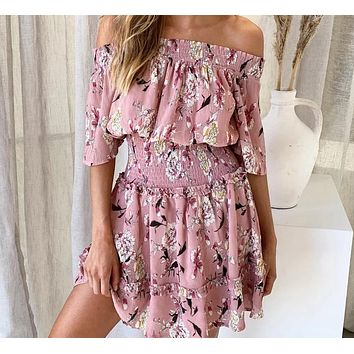 Rianda Off-the-Shoulder Floral Romper