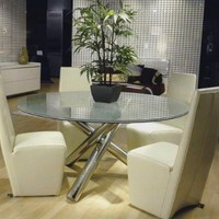Scandinavia Furniture Metairie New Orleans Louisiana offers Contemporary & Modern Furniture for your Living Room - STAR - GOTHAM 60' ROUND DINING TABLE - ScandinaviaFurniture.com