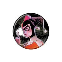 Harley Quinn With Gag Gun Button