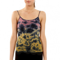 Sugarlips Two Color Tie Dye Seamless Camisole