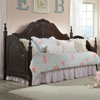 Homelegance Cinderella Day Bed in Dark Cherry