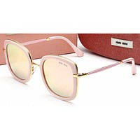 Miu Miu Women Casual Sun Shades Eyeglasses Glasses Sunglasses