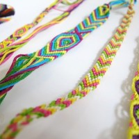 wednes-diy: friendship bracelets - Free People Blog