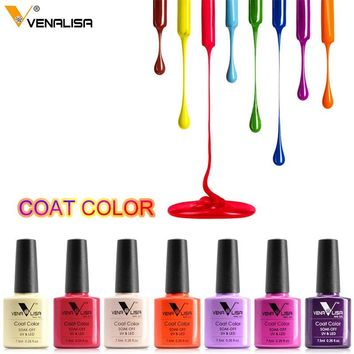 #61508 Venalisa Easy Soak Off Gel Nail UV LED Lamp Gel Polish 60 Colors Semi Permanent Gel Varnishes Gelpolish