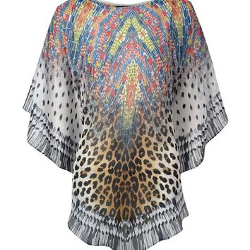 Coco Reef Women's Safari Style Short Caftan Swim Cover