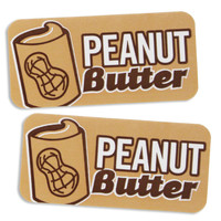 Peanut Butter Bakery Labels
