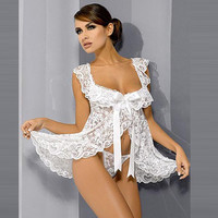 Sexy Cute On Sale Hot Deal Lace Backless Butterfly Dress Summer Exotic Lingerie [6596464963]