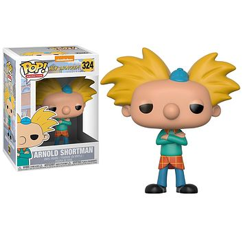 Arnold Shortman Funko Pop! Animation Nickelodeon Hey Arnold