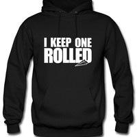I Keep One Rolled Hoodie