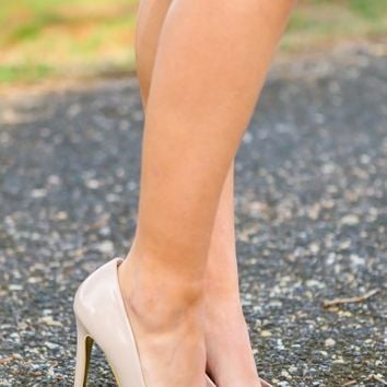 New Illusion Heels-Nude