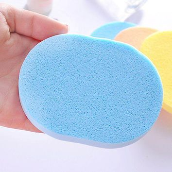 ESBON Hot Sale Seaweed Cleansing Flutter  Makeup Puff Seaweed Wash Puff  Beauty Wash Your Face Make Up Sponge Pad