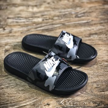 Nike Benassi Swoosh Sandals Style #12 Slippers - Best Online Sale