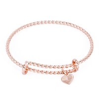 Shining Sea Expandable Wire Bangle