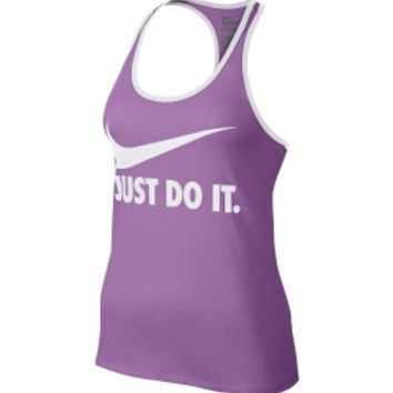 Nike Women's Swoosh Just Do It Racer Tank Top
