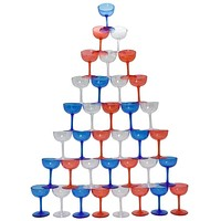 Red, White & Blue Stack Cup Game
