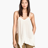 H&M Top drapé 14,95 $
