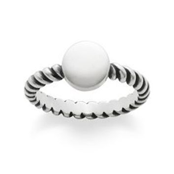 Engravable Twisted Wire Ring | James Avery
