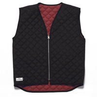 Reversible Vest Maroon/Charcoal – MUTTONHEAD