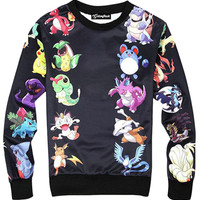 Pokemon Battle Crewneck