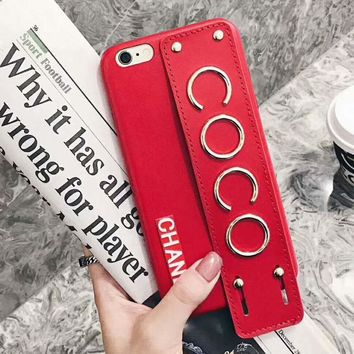 Tagre™ CHANEL COCO Fashion iPhone Phone Cover Case For iphone 6 6s 6plus 6s-plus 7 7plus iPhone8