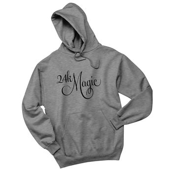 "Bruno Mars ""24K Magic"" Unisex Adult Hoodie Sweatshirt"