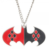 DC Comics Batman Harley Quinn Necklace