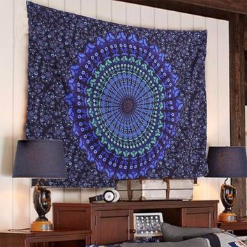 Bedding Outlet Boho Tapestry Printed Hanging Wall Tapestries Indian Home Decor 1Pc Factory Direct Bohemian Tapisserie &EY11