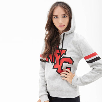 NYC Print Hooded Sweatshirt