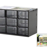 Home Storage Box with 9 Sub-Drawers