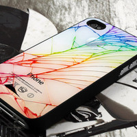 cracked out broken design  for iPhone 4 case, iPhone 4s case, iPhone 5 case, samsung galaxy S3 and samsung galaxy S4 case
