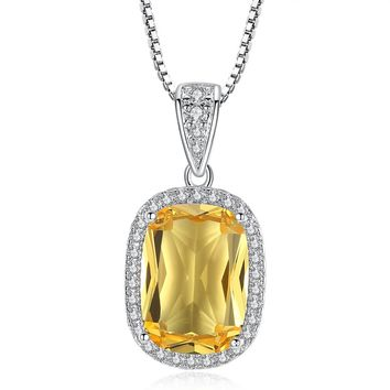 ON SALE - Golden Glow Austrian Crystal Halo Necklace