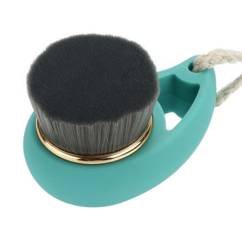 Bamboo Charcoal Facial Cleaning Brush Soft Hair Face Wash Brushes Pore Cleanser Cepillo Limpiador Facial