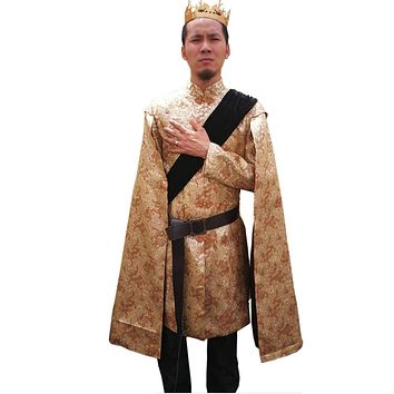 Game of Thrones King Prince Joffrey Baratheon Medieval Mens Cosplay Costume Outfit Robe Custom Made