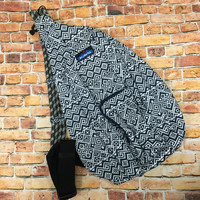 Monogrammed Kavu Rope Bags - Navy Quilt