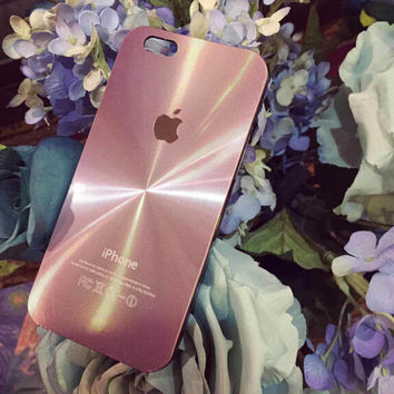 Pink Metal Radiation Case for iPhone 5s 5se 6 6s Plus Gift 322