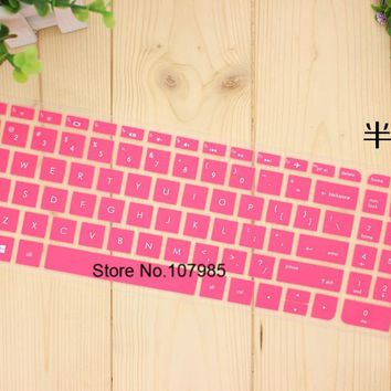 15.6 17 inch Silicone laptop keyboard cover Prorector For HP Pavilion ENVY 15 15-ac616tx 15-ax025tx 15-ac615tx 15-au508tx