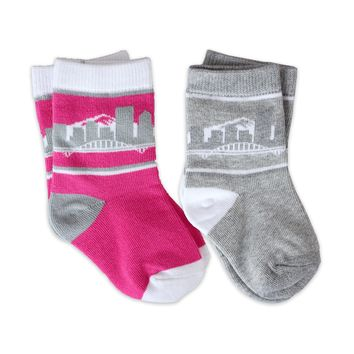 PORTLAND MINIS - PINK AND GREY