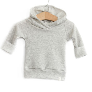 Baby Jogger Hoodie in Heather Gray