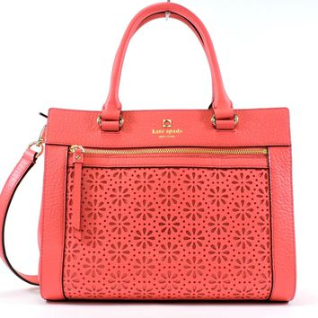 Kate Spade New York Perri Lane Bubbles Romy Convertible Satchel,Peony