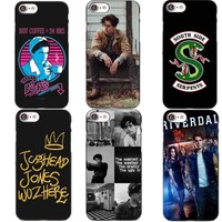 American TV Riverdale Jughead Hard Cover For iPhone 5S SE 6 6S 7 Plus 8 8Plus Riverdale Jughead Case for iPhone X 10 Cover Shell