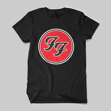 Foo Fighters American Rock Band Music Tour Logo T-Shirt Unisex Size