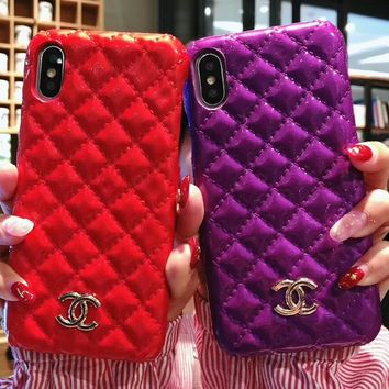 CHANEL 2018 new iphone7plus luxury personalized phone case F-OF-SJK