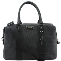 ONETOW Michael Kors Jet Set Travel Signature Large Weekender/ Carry On Bag