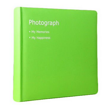 Creative Inset Photo Memory Book/Album of Baby's First 5 Years(Green)